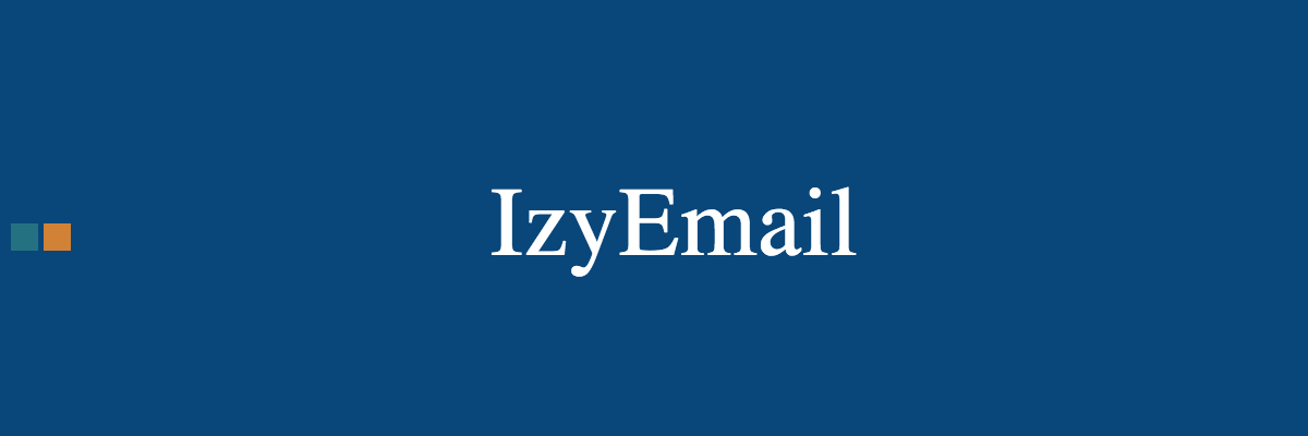 Configuring an email reception service as SMTP in the IzyCloud Grid